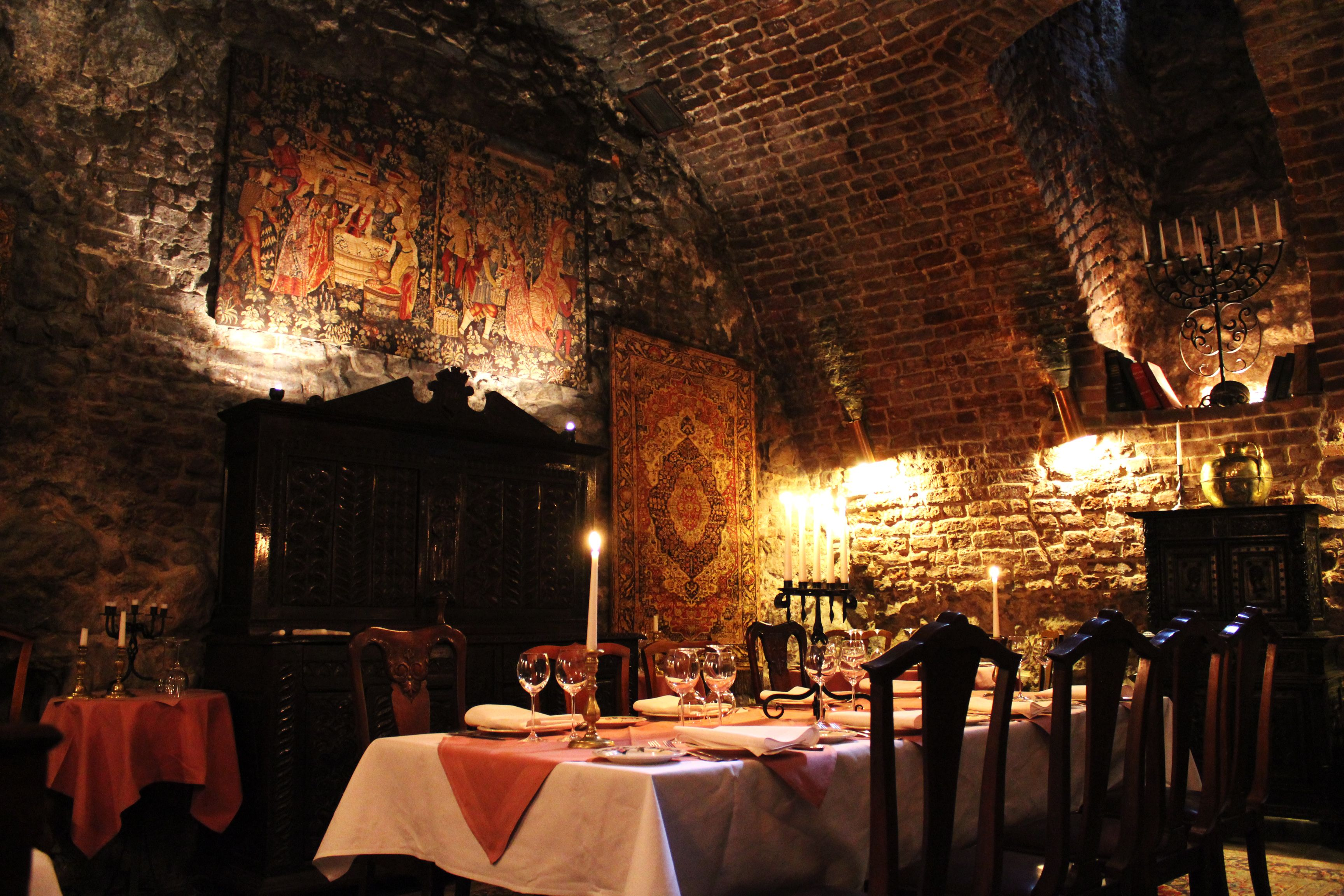 Medieval Dining Room Medieval house #7 outside