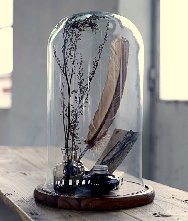Bell Jar Drawing is by Adding Bell Jars And