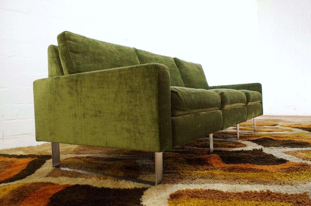 top cor conseta 3er sofa auf kufen 60er 70er interl bke. Black Bedroom Furniture Sets. Home Design Ideas
