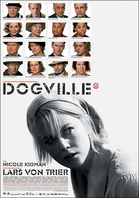 dogvilleposter Lars von Trier   Dogville (2003)