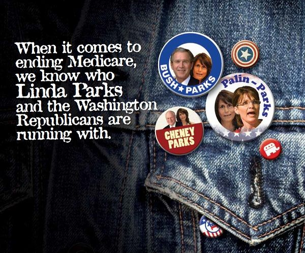 dcccattacks CA 26: Democratic Congressional Campaign Committee Hits Linda Parks in Republican Framing Mailer