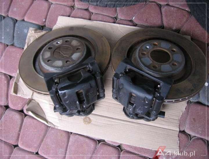 Wymiana Tylnych Tarcz Klocków 300 Mm 330 Mm Procedura A4 B8 Audi